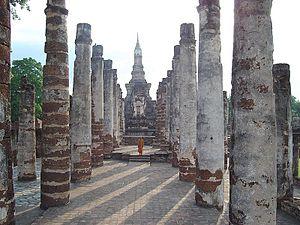 Sukhothai Historical Park - Wat Mahathat