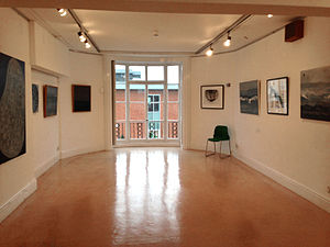 Watford Museum - Art exhibition space at Watford Museum