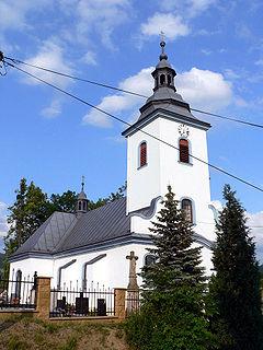 Vendryně Village in Moravian-Silesian, Czech Republic