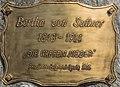 Weitensfeld Zammelsberg Dichtersteinhain Gedenktafel fuer Bertha von Suttner 11042016 1365.jpg
