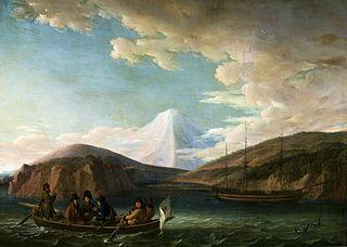 Adam Johann von Krusenstern in Avacha Bay.