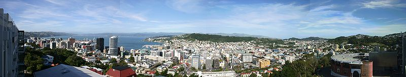 Panoraamvaade Wellingtonile