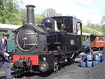 Welshpool and Llanfair Light Railway No. 1 The Earl.JPG