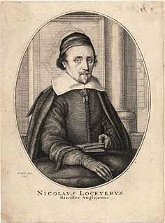 Nicholas Lockyer English priest