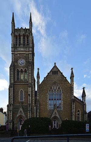 Grade II* listed buildings in Rushmoor - Image: Wesley Chambers, Aldershot