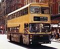 West Midlands PTE bus 4775 (JOV 775P) 1976 Volvo Ailsa B55 Alexander AV, Birmingham, 1982.jpg