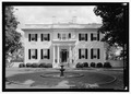 West elevation - Governor's Mansion, Capitol Square, Richmond, Independent City, VA HABS VA.44-RICH,8-1.tif