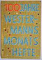 Westerman-Monatshefte 100 Jubilaeum 1956 (UA-Westermann-Verlag).JPG