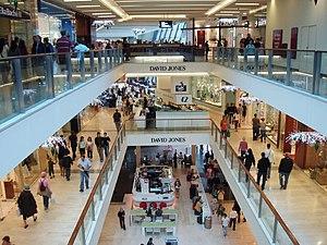 Westfield Bondi Junction - Mall interior (2005)