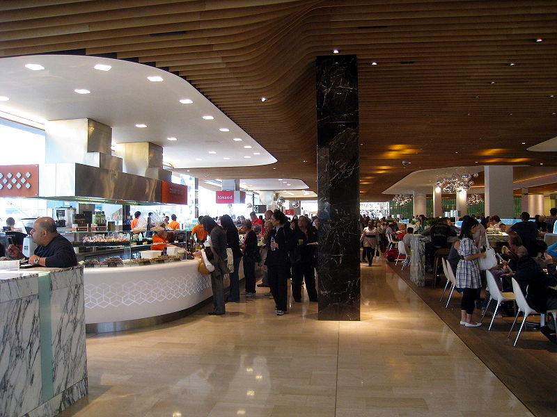 Food Court Westfield Mall Century City