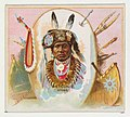 Wetcunie, Otoes, from the American Indian Chiefs series (N36) for Allen & Ginter Cigarettes MET DP838928.jpg