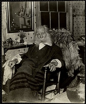 Walt Whitman House - Walt Whitman in his Mickle Street home the year before his death