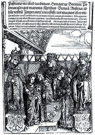 Sigismund I the Old - Image: Wiener Doppelhochzeit