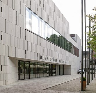Landtag of Hesse - Landtag of Hesse, extension