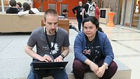 Wikimedia Hackathon 2017 IMG 4655 (34745753666).jpg