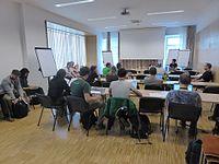 Wikimedia Hackathon Vienna 2017 attendees 13.jpg
