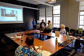 Wikipedia 15 meetup Seattle 2.JPG