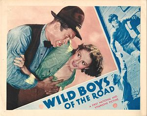Wild Boys of the Road - Ward Bond and Ann Haney