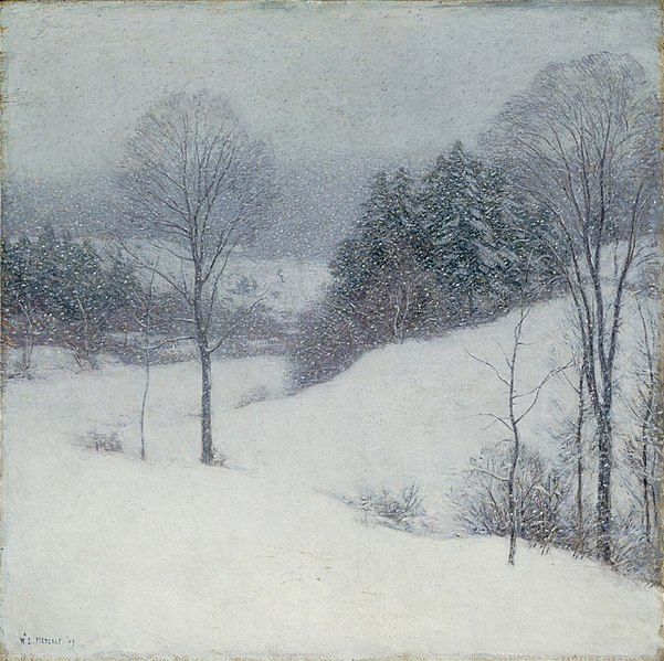 File:Willard Leroy Metcalf - The White Veil (1909).jpg