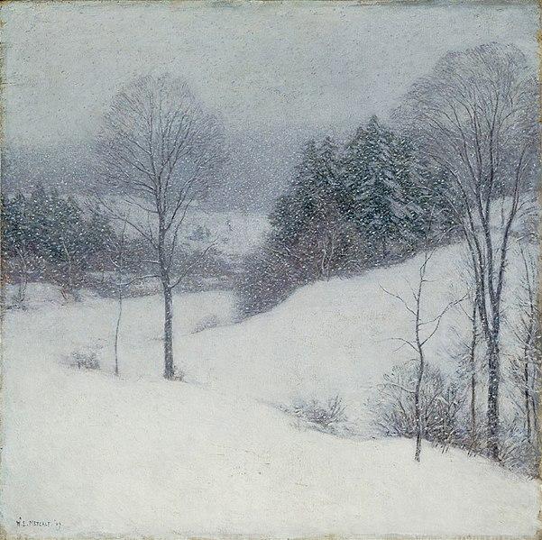 File:Willard Leroy Metcalf - The White Veil (1909).jpg