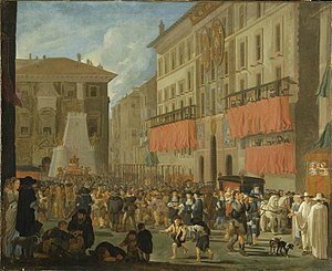 Willem Reuter - Celebration on the Piazza di Spagna