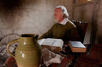 William Brewster (Mayflower passenger) - A first-person historical interpreter portraying Elder William Brewster at Plimoth Plantation.