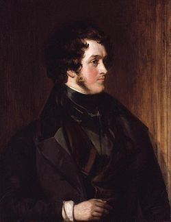 William harrison ainsworth by daniel maclise