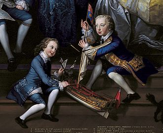 Prince Henry, Duke of Cumberland and Strathearn - Henry (right) with his brother William Henry, from a family group portrait of 1751.