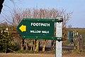 Willow Walk footpath - geograph.org.uk - 1760223.jpg