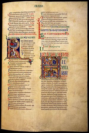 Winchester Bible - Image: Winchester bible 02e 1150