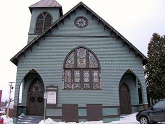 Winooski, Vermont - Methodist Episcopal Church of Winooski