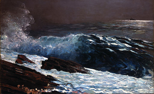 Seascape and Maritime Paintings by Winslow Homer