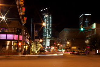 Downtown Oklahoma City - Winter 2012 in Downtown OKC, from Bricktown