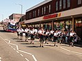 Winton - a piping band at the carnival - geograph.org.uk - 1935471.jpg