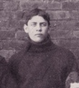 W. A. Martin - Martin pictured playing football at Virginia