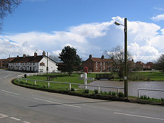 Wold Newton, East Riding of Yorkshire - Image: Wold Newton village