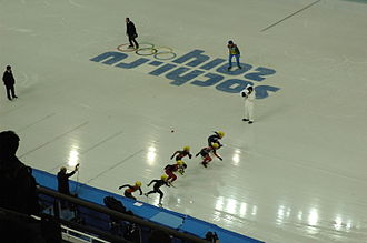 Short track speed skating at the 2014 Winter Olympics – Women's 1500 metres - Semifinal 1