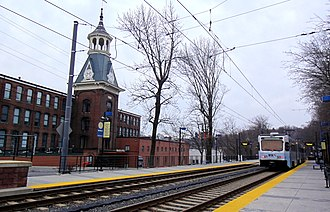 Woodberry station - Woodberry station in February 2013