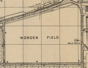 William Wurtenburg - Image: Worden Field 1924 map