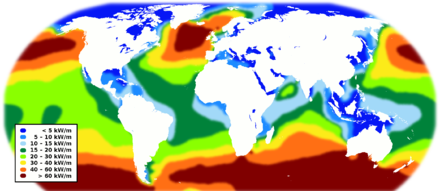 World wave energy resource map World wave energy resource map.png