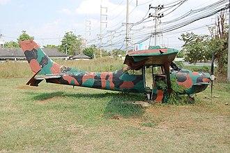 Peterson 260SE - A Wren 460 at the Loei War Memorial Park