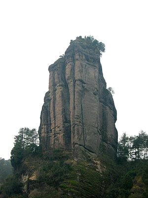 Peak Yunu at Wuyi mountain