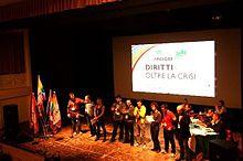 XIV Congresso nazionale di Arcigay a Ferrara, il nuovo gruppo dirigente