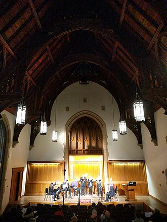 Yale School of Music - Performance in Sudler Recital Hall