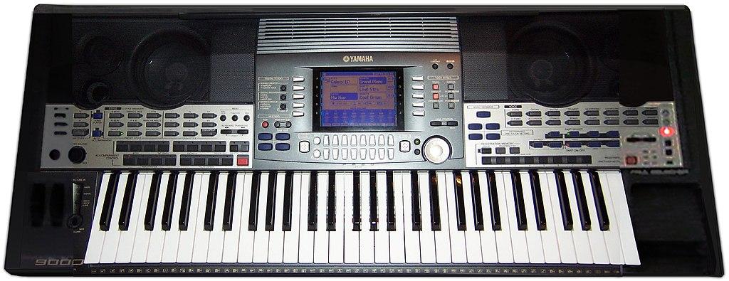 Casio Keyboard Yamaha Pedal