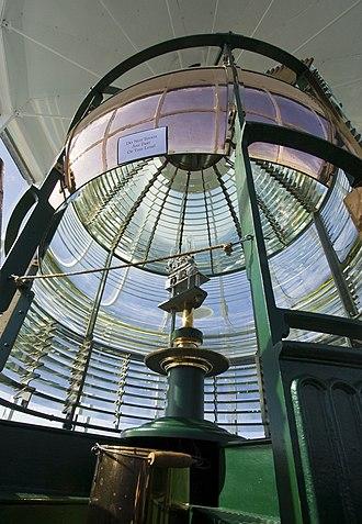 Yaquina Head Light - Image: Yaquina Head Lighthouse lens