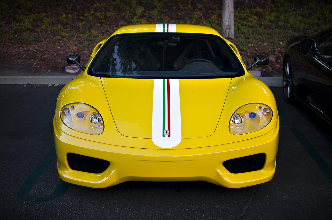 File Yellow Ferrari 360 Challenge Stradale 8162227396 Jpg Wikimedia Commons