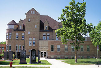 Yellow Medicine County, Minnesota - Image: Yellow Medicine County Courthouse