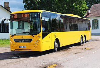 Volvo B9RLE - Image: Yellowbus