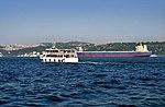 Yucel Kaptan ferry on the Bosphorus in Istanbul, Turkey 001.jpg